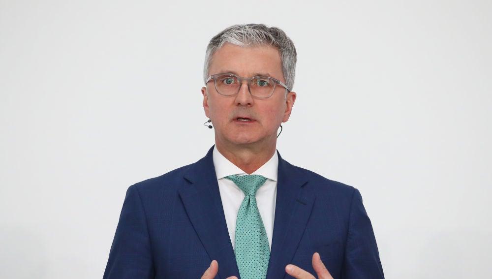 El presidente de Audi, Rupert Stadler