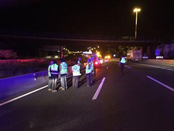 Servicios de emergencias atienden un atropello mortal en Madrid