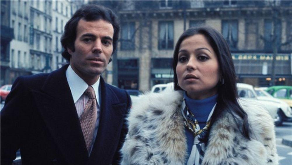 Julio Iglesias e Isabel Preysler cuando eran matrimonio