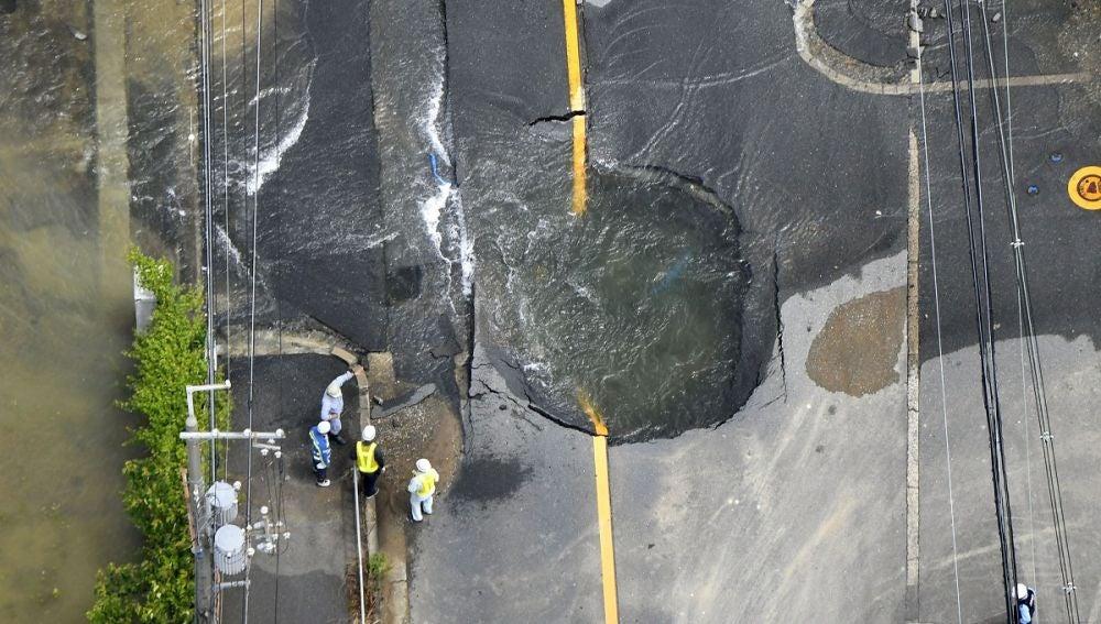 Terremoto en Japón de 6,1 grados