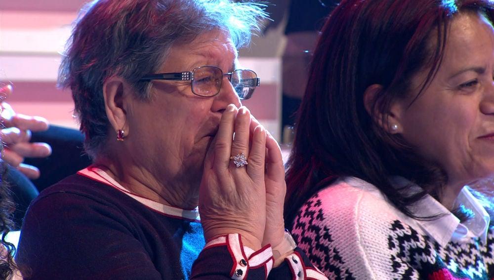Emoción y lágrimas, protagonistas de un bonito momento en '¡Ahora Caigo!'