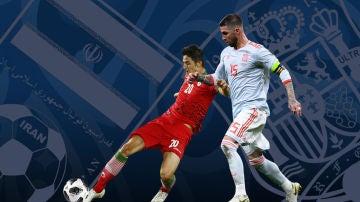 Irán - España, en Radioestadio