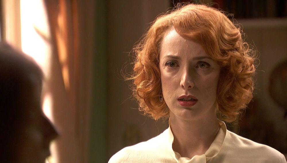Irene, conmocionada al descubrir la preocupación de Adela