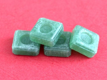 Caramelos con mentol