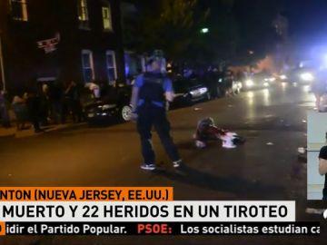 Un muerto y al menos una veintena de heridos por disparos durante un festival en Nueva Jersey