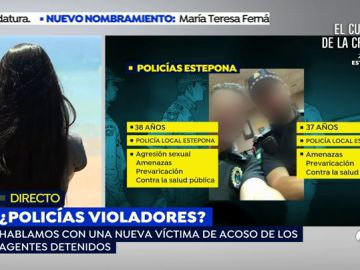 Una nueva joven denuncia acoso de los policías acusados de violación en Estepona