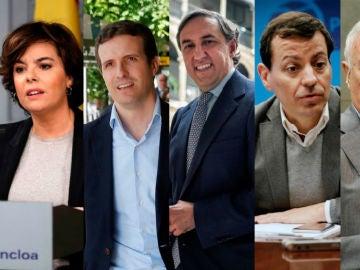 Candidatos para liderar el PP