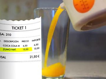 Unos turistas denuncian los precios abusivos de un bar de Mallorca: 3 euros por un café y 15 por un zumo de naranja