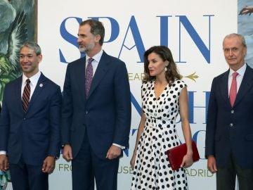 Los Reyes de España en EEUU