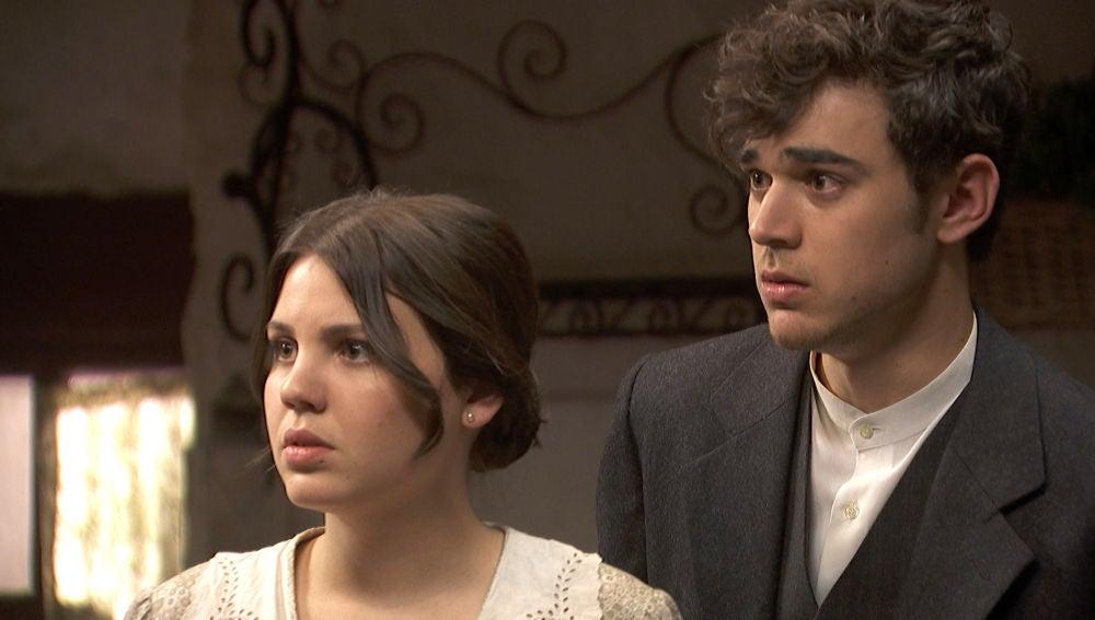 Las noticias sobre el paradero de Emilia y Alfonso llegan a Puente Viejo