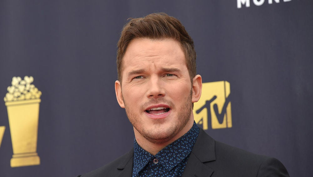 Chris Pratt en la gala de los MTV Movie and TV Awards