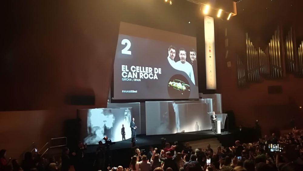 Can Roca, segundo mejor restaurante del mundo