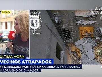 """Un vecino de la corrala que se ha derrumbado en Madrid: """"Pensé que se me venía encima el edificio entero"""""""
