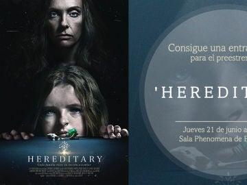 Concurso 'Hereditary'