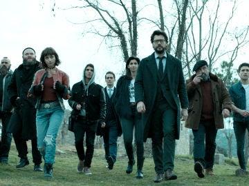 'La casa de papel', la serie de éxito de Antena 3, recibe el 'Premio a Mejor Serie Dramática' en el histórico 'Festival Internacional de Televisión' de Montecarlo