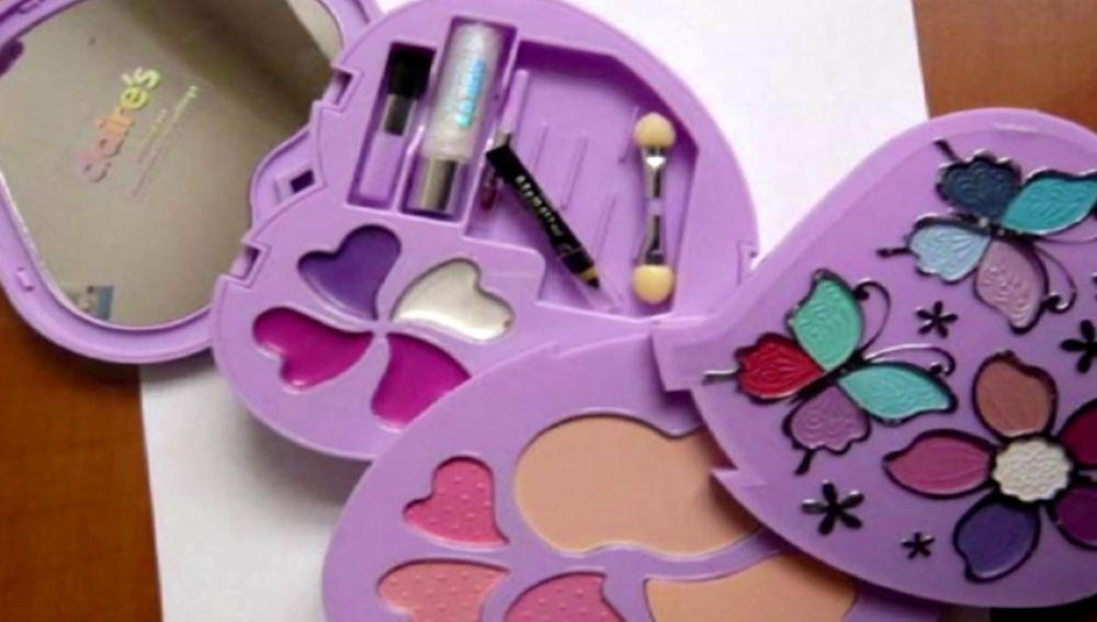 Localizado amianto en un maquillaje vendido en una conocida franquicia