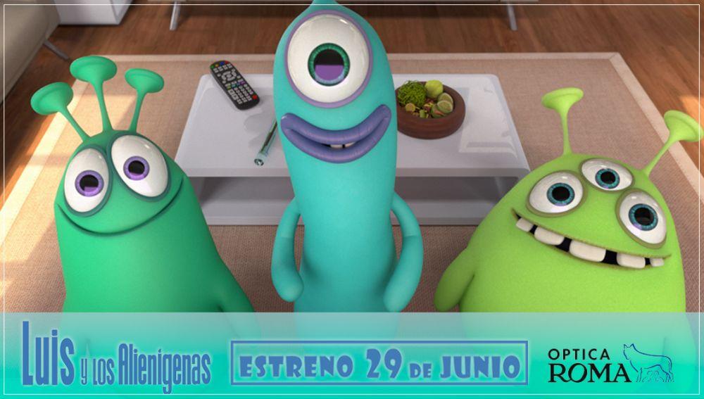 Concurso 'Luis y los Alienígenas'