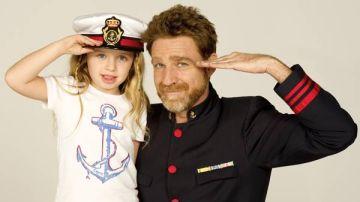 Los actores de 'El Barco' Patricia Arbués y Juanjo Artero