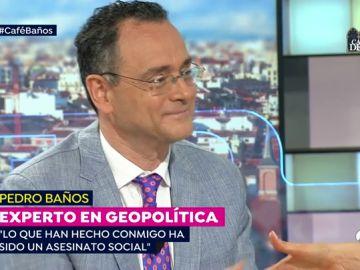 """El coronel Baños, sobre la campaña que le hizo perder el cargo de director de Seguridad Nacional: """"Lo ocurrido conmigo es un asesinato social"""""""