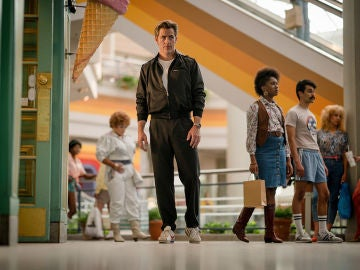 Chris Pine como Steve Trevor en 'Wonder Woman 1984'