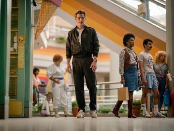 Chris Pine como Steve Trevor en 'Wonder Woman 1984'