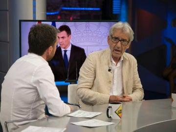 José Sacristán y Pablo Motos repasan la actualidad de Cataluña en 'El Hormiguero 3.0'