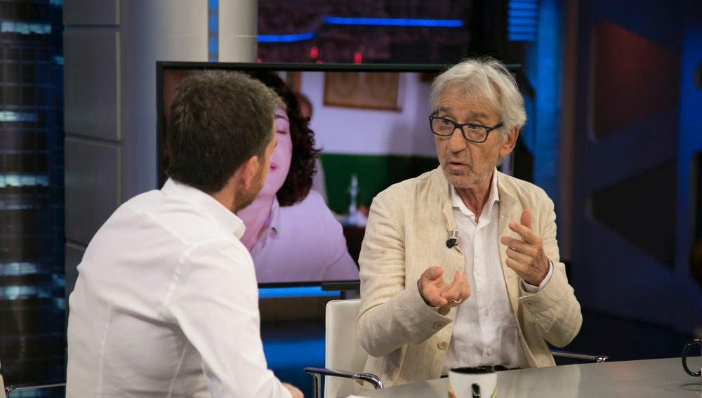 """José Sacristán habla en 'El Hormiguero 3.0' sobre el gobierno de Pedro Sánchez: """"En principio no confiaba demasiado en su figura"""""""