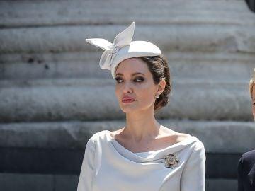 El glamuroso look de Angelina Jolie