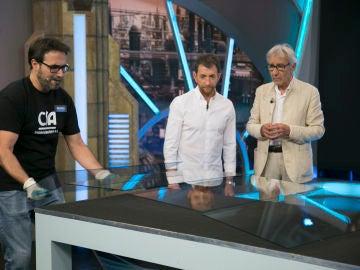 José Sacristán alucina con el corte más rápido del mundo en 'El Hormiguero 3.0'