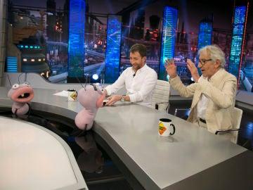 Trancas y Barrancas retan a José Sacristán en 'Políticos setenteros aquí y en el mundo entero'