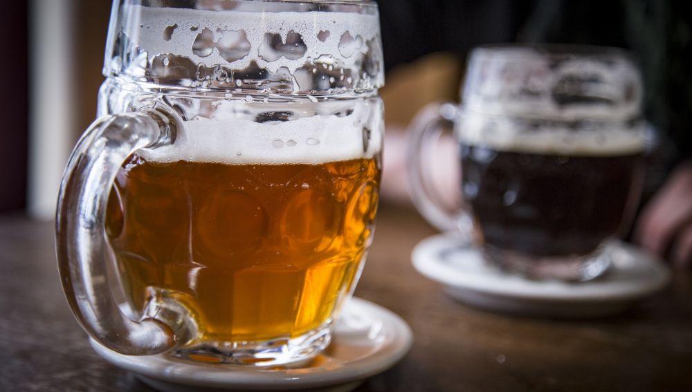Imagen de archivo de una cerveza