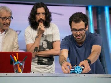 Descubre el robot pintor de 'El Hormiguero 3.0'