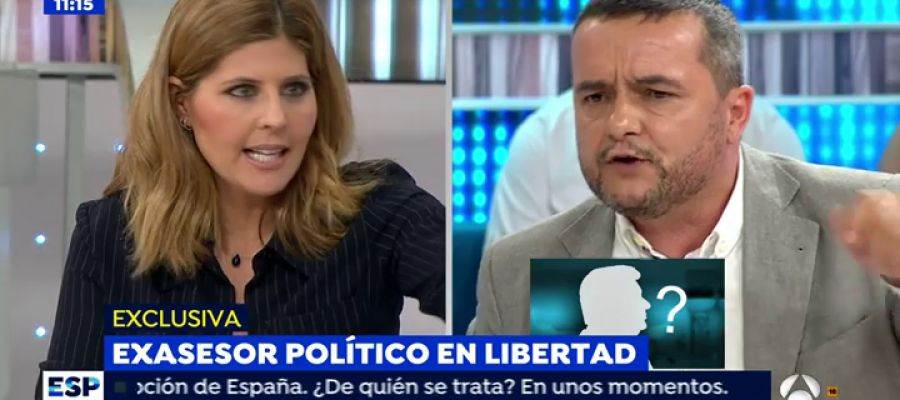 Antena 3 tv la tremenda bronca entre chema crespo y for Antena 3 espejo publico hoy