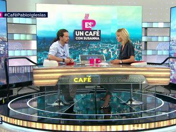 Iglesias en 'un café con Susanna'