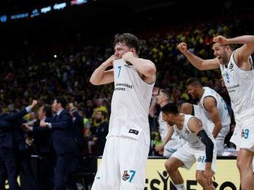 Luka Doncic, en la final de la Euroliga
