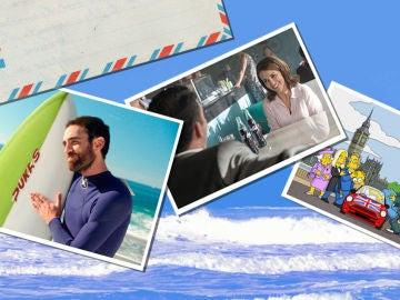 Los destinos vacacionales elegidos por los protagonistas de las series de Antena 3