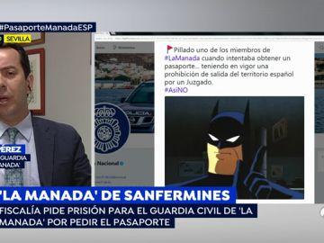 """El abogado del guardia civil de 'La Manada': """"El 'tuit' de la Policía fue malintencionado, ha habido un malentendido"""""""