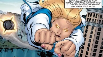 Faith Herbert será la primera superheroína de talla grande