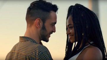 C. Tangana y Berta Vázquez en el videoclip de 'Bien Duro'