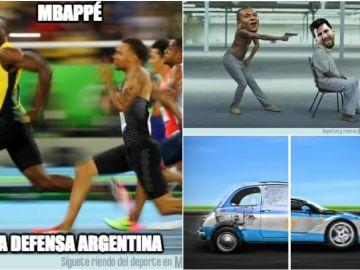 Los memes del Francia vs Argentina