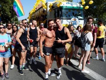 Celebración del Orgullo Gay en Barcelona