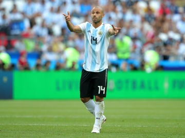Mascherano, con Argentina
