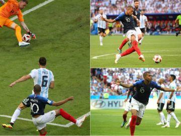 Mbappé, el gran protagonista del Francia vs Argentina