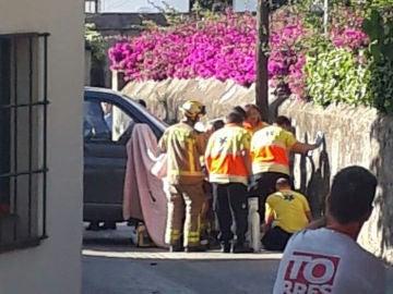 Muere una bebé arrollada por una furgoneta