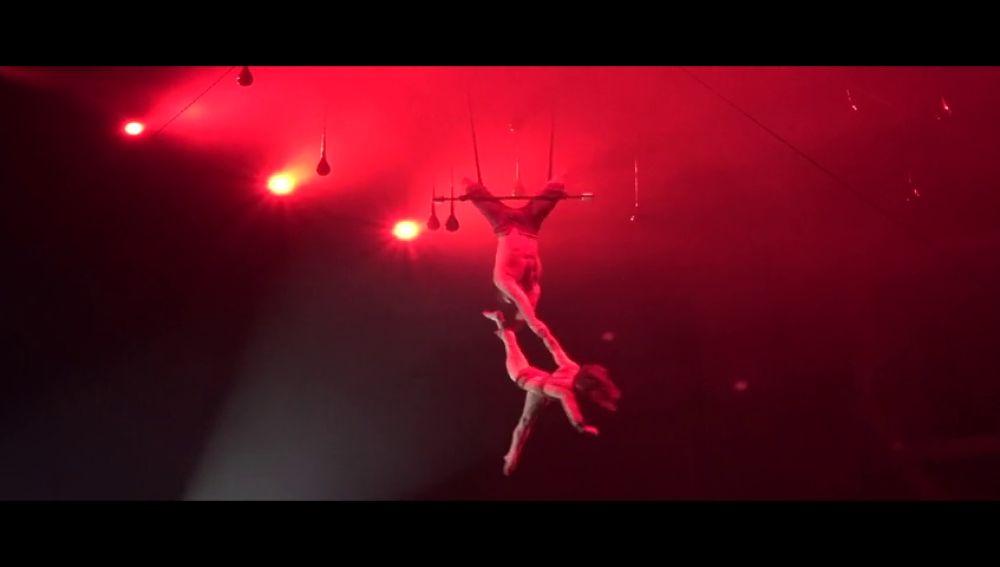 Lleno absoluto en el nuevo espectáculo de Cirque du Soleil, 'DIVA', estrenado en Andorra