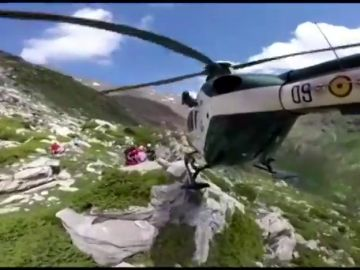 Rescates en el Pirineo aragonés