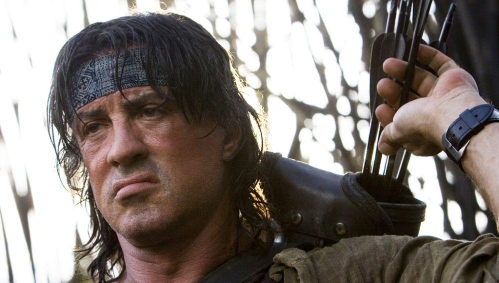 Sylvester Stallone en 'John Rambo: Regreso al infierno'