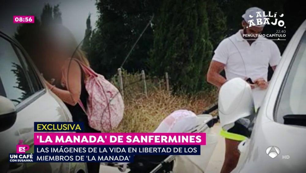 EXCLUSIVA: Las imágenes de 'La Manada' pasando el fin de semana con sus parejas y familiares