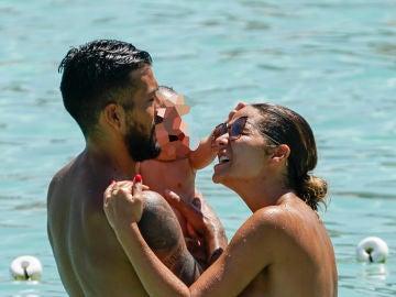 Las vacaciones familiares de Tamara Gorro