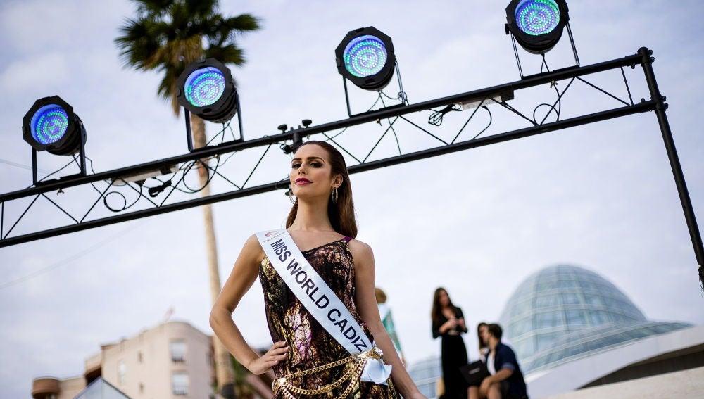 La modelo Ángela Ponce en una fotografía de archivo